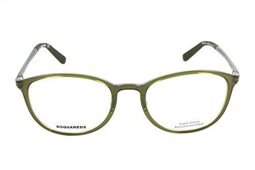 Marrone Brown 50 Unisex-Adulto D-Squared Dq5225 041-50-18-140 Montature