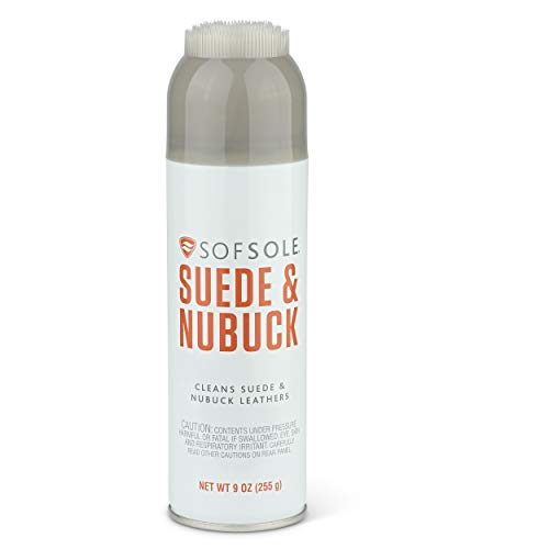 Sof Sole Suede and Nubuck Leather Shoe Cleaner, 9-Ounce