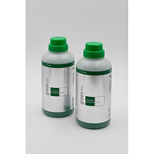 Listone Giordano Green Bio detergente. Confezione da 2 flaconi. Detergente Delicato per la Pulizia dei Pavimenti Uso frequente.