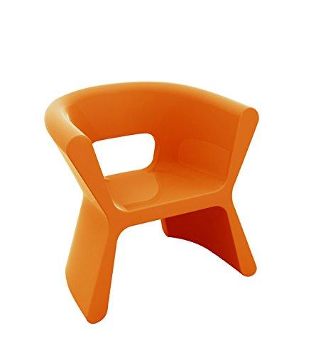Fauteuil PAL - Orange, Brillant
