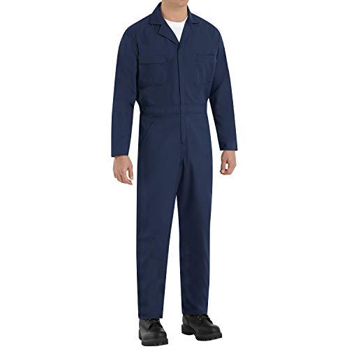 Red Kap Men's Speedsuit, Navy, Small