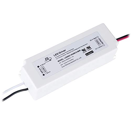 Dimmable LED Driver 12V 60 Watts IP67 Triac Dimming LED Power Supply 110V to 12V DC Transformer 12 Volt 5Amps 60W LED Drivers Waterproof