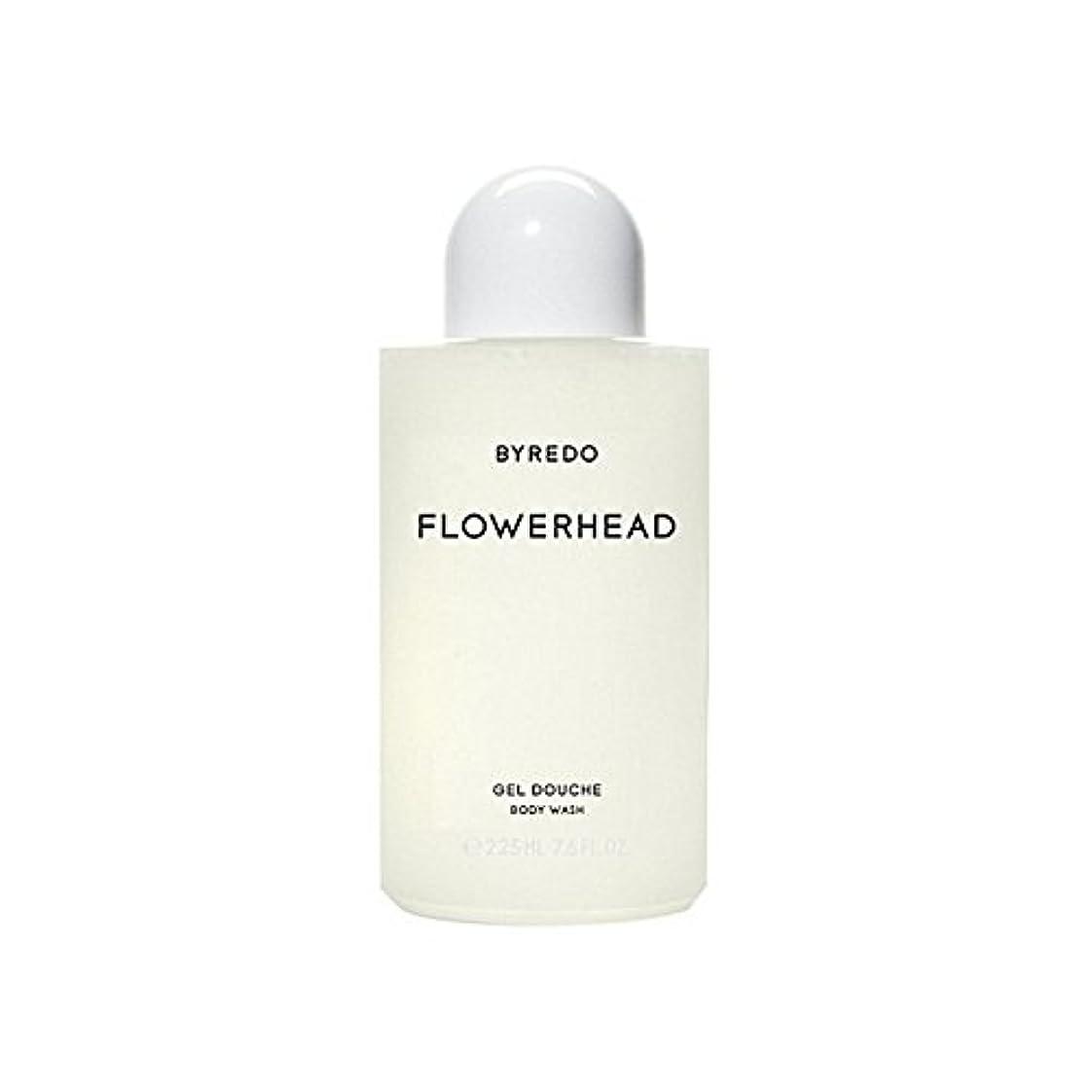 波紋励起等しいByredo Flowerhead Body Wash 225ml (Pack of 6) - ボディウォッシュ225ミリリットル x6 [並行輸入品]