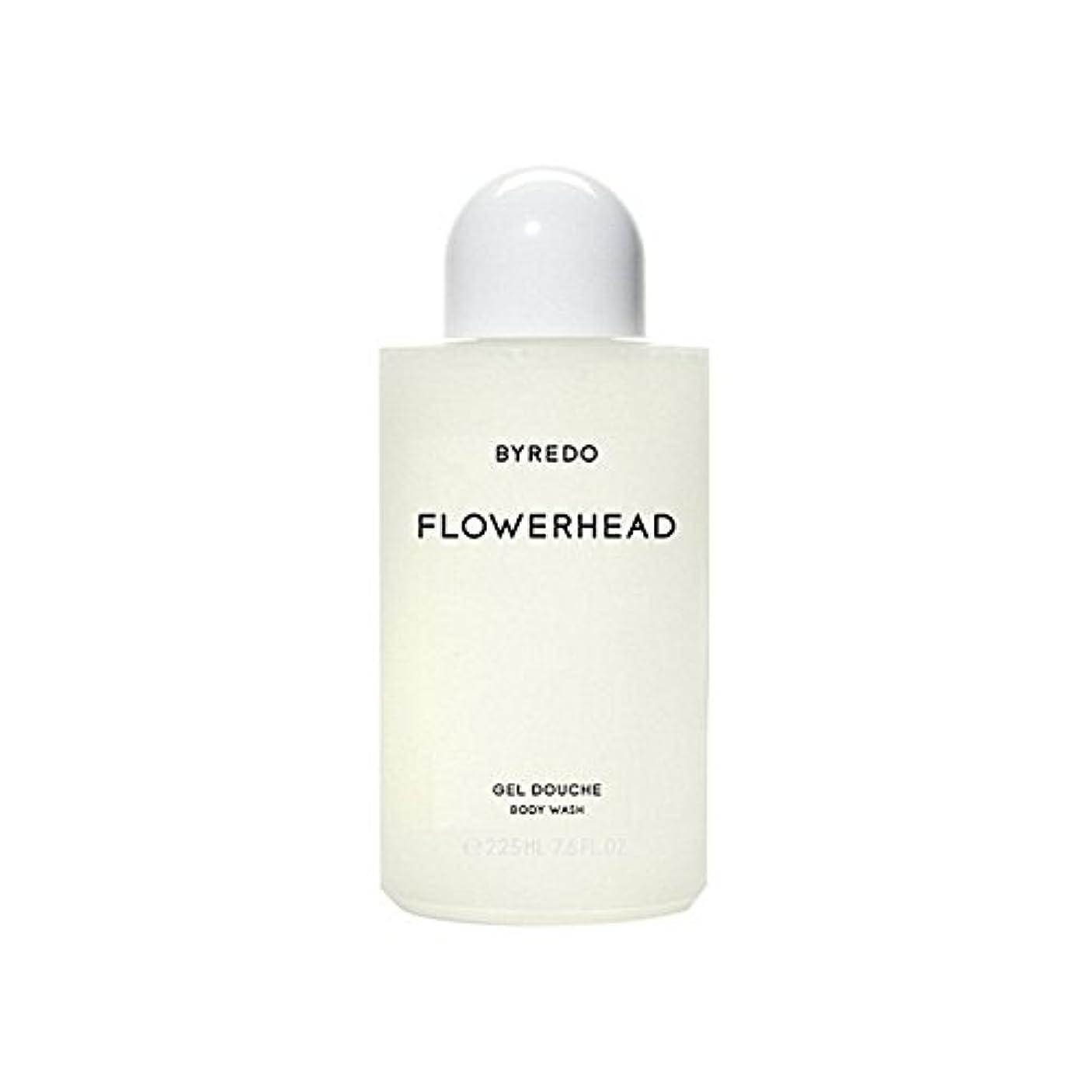 肺炎最愛の生産性ボディウォッシュ225ミリリットル x4 - Byredo Flowerhead Body Wash 225ml (Pack of 4) [並行輸入品]