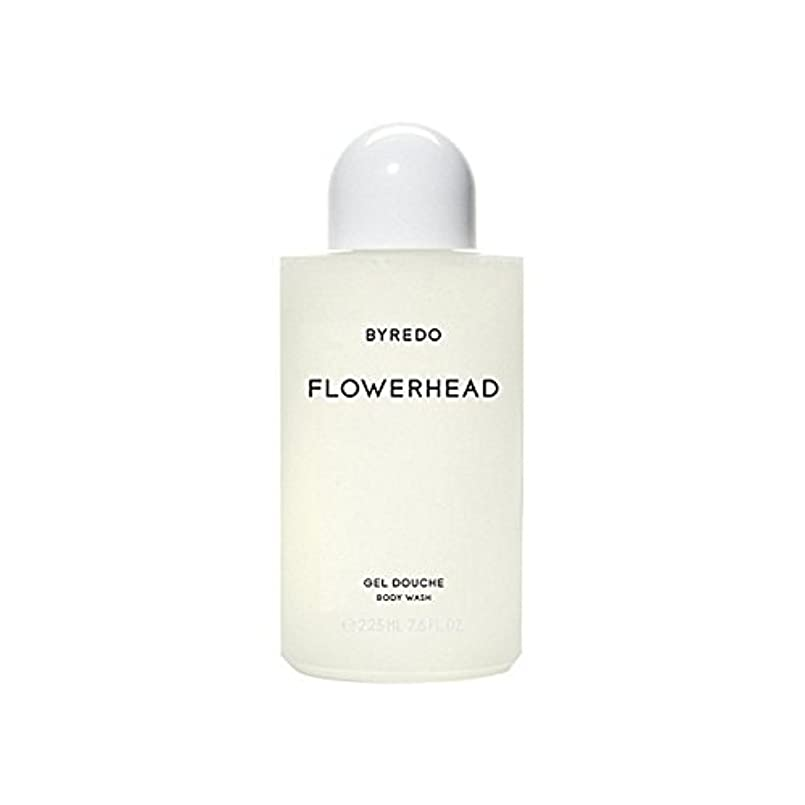 簡単な贅沢な知恵ボディウォッシュ225ミリリットル x2 - Byredo Flowerhead Body Wash 225ml (Pack of 2) [並行輸入品]