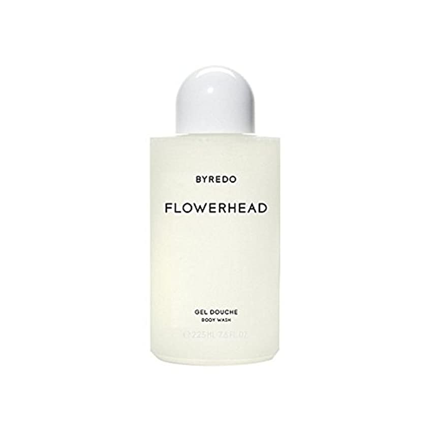 遊びますスクラブメナジェリーボディウォッシュ225ミリリットル x4 - Byredo Flowerhead Body Wash 225ml (Pack of 4) [並行輸入品]
