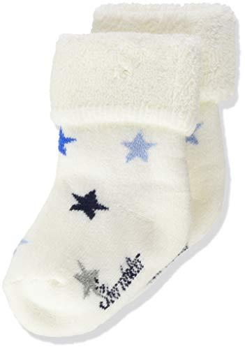 Sterntaler Baby-Mädchen Söckchen Sterne Socks, Ecru, 16
