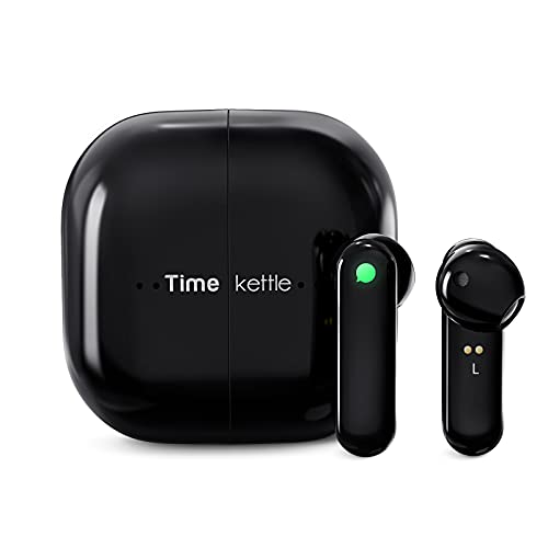 Timekettle M2 Language Translator Earbuds - Supports 40 Languages & 93 Accent Online, Instant Voice Translator Device with Bluetooth & APP, True Wireless Earbuds for Music and Call Fit iOS & Android