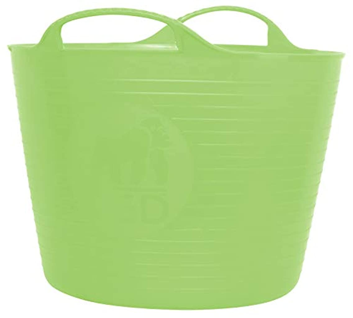 TubTrug SP14PST Small Pistacio Flex Tub, 14 Liter