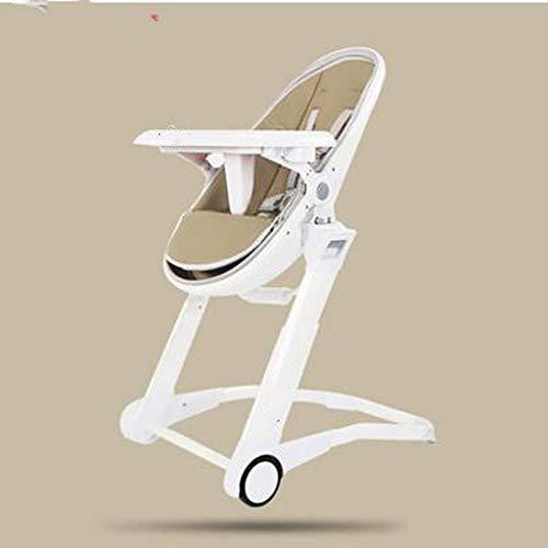MASODHDFX Egg Design Child Feed Chair, verstelbare kinderstoel, multifunctionele Rockchair Rocker,B