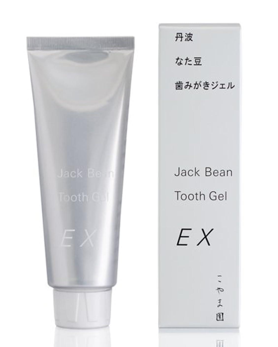 多用途残基白菜こやま園 丹波なた豆歯みがきジェルEX 120g