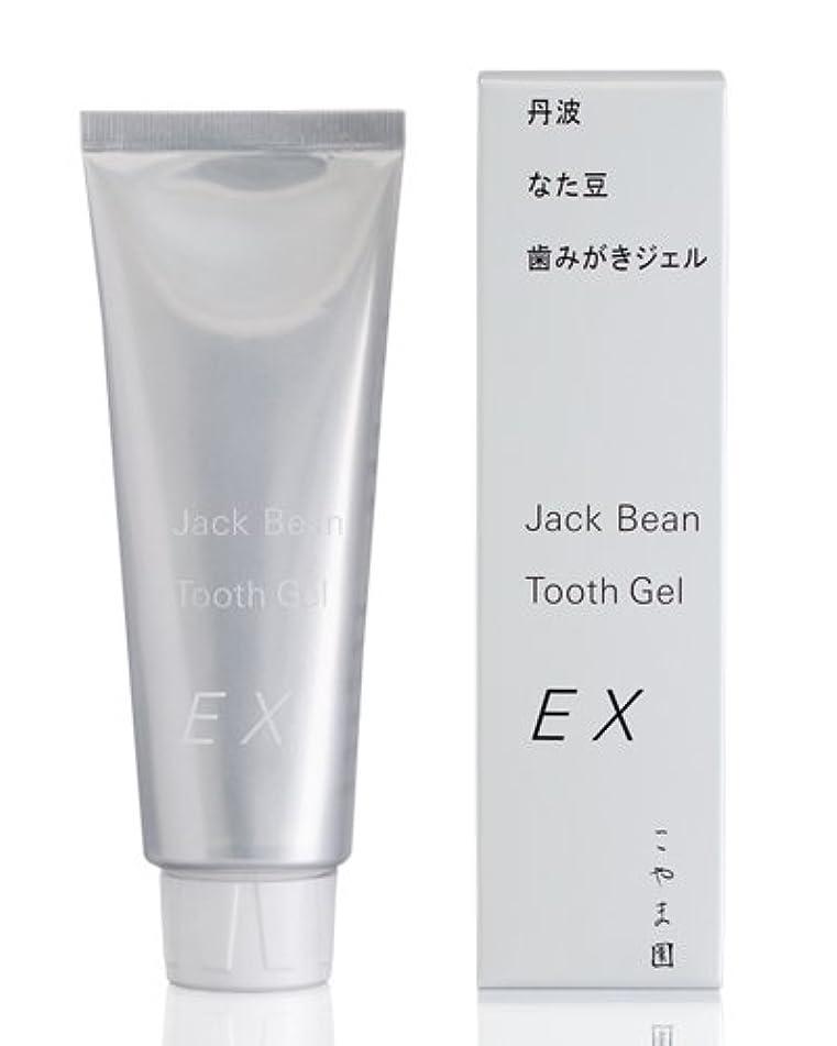 アルミニウム慎重レーダーこやま園 丹波なた豆歯みがきジェルEX 120g