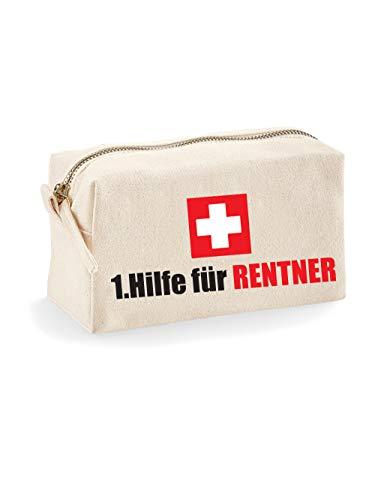 clothinx Große 1. Hilfe Tasche für Rentner als Geschenk zum Ruhestand zur Rente