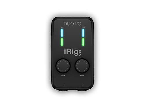 IK MUltimedia iRig Pro Duo I/O - Universelles Zweikanal-Audio-/MIDI-Interface für iPhone, iPad, Android und MAC/PC - 3