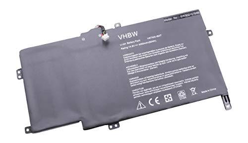 vhbw Batterie Compatible avec HP Envy Sleekbook 6, 6-1000, 6z-1000 Laptop (4050mAh, 14.8V, Li-Polymère, Noir)