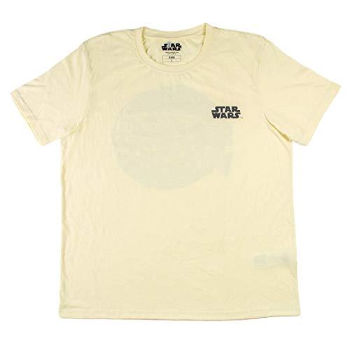 CERDÁ LIFE'S LITTLE MOMENTS Hombre Camiseta Star Wars-Licencia Oficial Disney, Blanco, XL