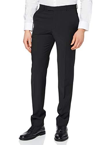 Pierre Cardin Anzughose Futureflex Dupont Pantalones de Traje, Negro, 3 Mes para Hombre
