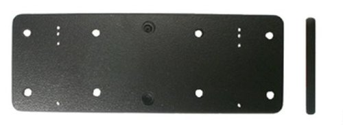Preisvergleich Produktbild Brodit 213053 Montageplatte,  Schwarz