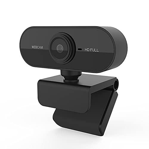 SH-RuiDu HD 1080P Webcam Computer PC Cámara Web con micrófono Plug- n - Play para transmisión en vivo Conferencia de videollamadas