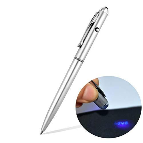 PiniceCore Bürobedarf-Material Escolar Schulbedarf unsichtbare Tinten-Feder mit UV-Licht magischen Geheimnis Kugelschreiber Großhandel