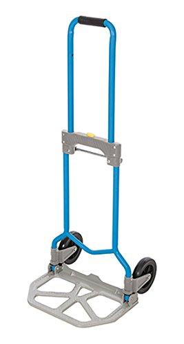 Silverline 872993 - Plataforma de transporte plegable de acero, color azul