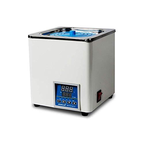 AMITD Elektro-Heizung Digital-Thermostat-Wasserbad 1 Kammer 3L Wasserbad mit mit einstellbaren Öffnungen für Lab 110V / 60 Hz
