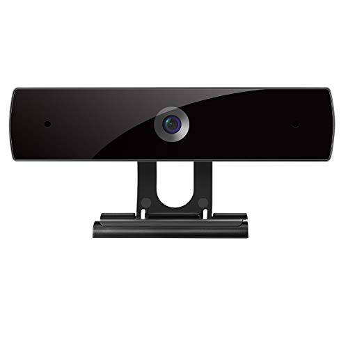 Webcam with Microphone, 1080P HD Webcam Streaming Computer Web Camera - USB Computer Camera for PC Laptop Desktop Video Calling, Conferencing