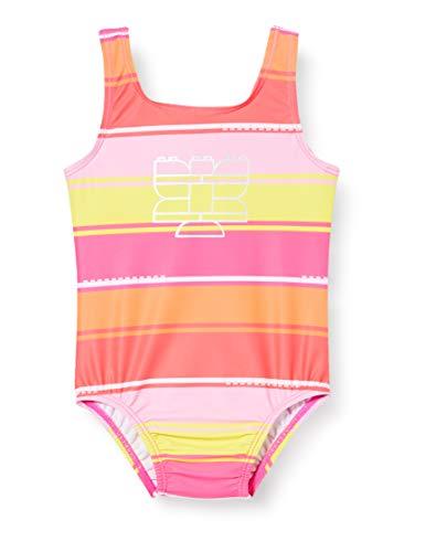 Lego Wear Baby-Mädchen Lwangela Uv Lsf 50 Plus Badeanzug, Mehrfarbig (Dark Pink 474), (Herstellergröße:104)
