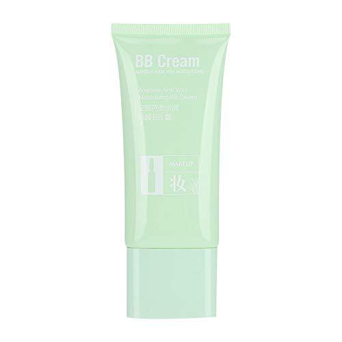 BB crème, base de maquillage anti-pores 50 g Contrôle de l'huile étanche Crème BB anti-transpiration, fond de teint minéral anti-âge, protection solaire naturelle pour toutes les peaux