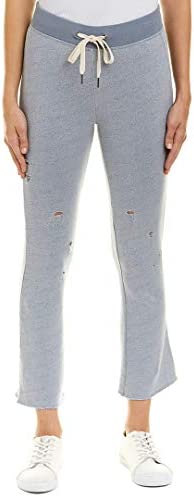 XS Heather Grey Gravity n:PHILANTHROPY Womens Slim Casual Mid Rise Drawstring Deconstructed Pant
