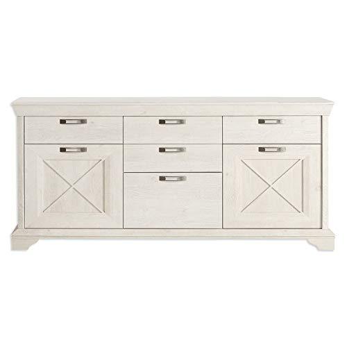 ROLLER Sideboard - Pinie weiß - 178 cm breit