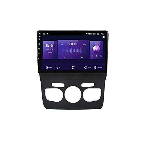 TypeBuilt Android Autoradio 9' Pantalla Tactil para Coche HD Radio De Coche Bluetooth SWC per Citroen C4 2 B7 2013-2016 Coche Audio FM/Am/RDS Radio Video Player Bluetooth Radio Pantalla,7731 1g+16g