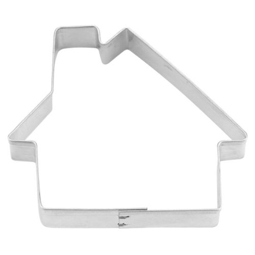 Staedtler Haus 163133 House Form Cookie Cutter, Silber, 7,5 cm