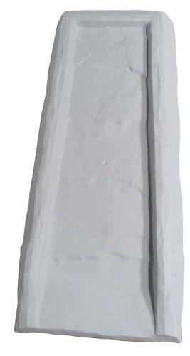 Master Mark Plastics 30624 Splash Block 24 Inch, Gray