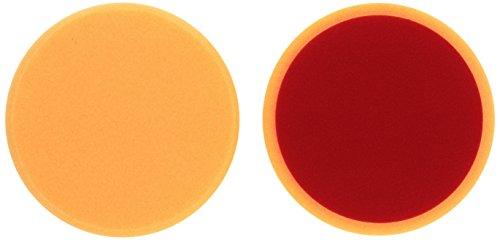 ALCLEAR 5516030AH Polierpad gegen Hologramme, Auto Polierschwämme, Durchmesser: 160x30 mm, orange,2er Set, Polierpad polieren Pad Schwamm Polierschaum f. Poliermaschine 5516030AH_2