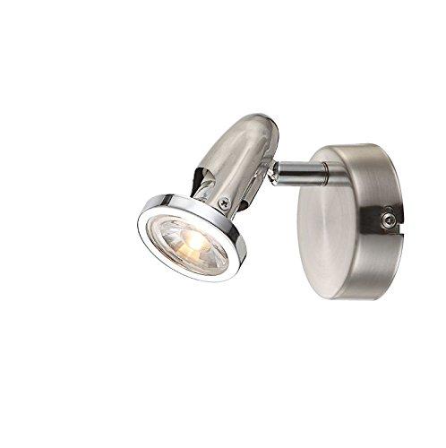 Wandstrahler Innen LED Wandlampe Flurlampe Wandleuchte Leselampe 1 Flammig (Wohnzimmerlampe, Schlafzimmerlampe, 5 Watt, Warmweiß)