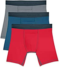 Fruit of the Loom Men's 3-Pack Everlight, active - Assorted color - BOXER Brief, Small