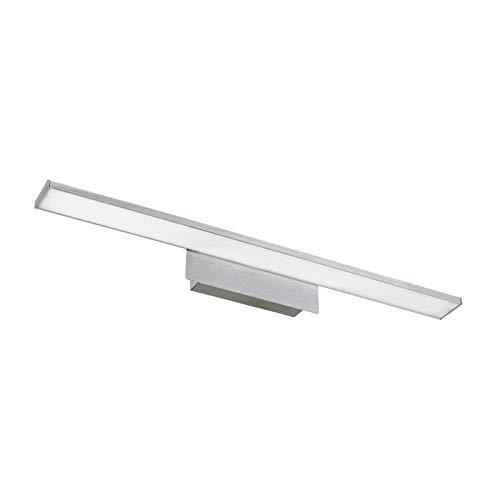Sulion LED Alboran Iluminacuadros, 10 W, Níquel/Difusor Satinado