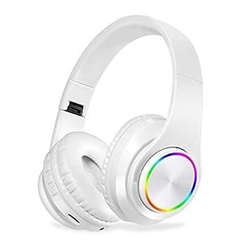 KOVIPGU B39 Wireless Bluetooth Headphones LED Lights with MIC Mp3 Player
