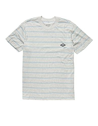 Billabong Knit Archer T-Shirt Light Grey
