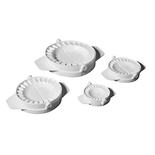 Ibili 707700 - Set 4 Molde Empanadillas,5.5 / 7.5 / 9.5 /...