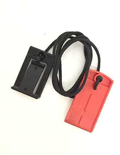 Safety Key 1' 119038 Works with NordicTrack Proform Reebok Weslo HealthRider Treadmill