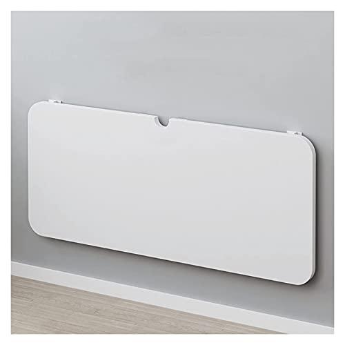 Sywlwxkq La Mesa de Pared Plegable para Colgar en la Pared de Escritorio es Adecuada para el lavadero, el Bar Familiar, la Cocina, el Comedor, 18 tamaños (Color: Blanco, Tamaño: 70x50cm)