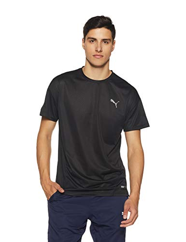 PUMA Herren T-Shirt A.C.E. SS Tee, Puma Black, XL, 516648