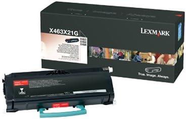 Lexmark Extra High Yield Toner Cartridge, 15000 Yield (X463X21G)