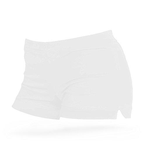 Shepa Damen Kurze Fitness Shorts Hot Pants Hose S Weiss