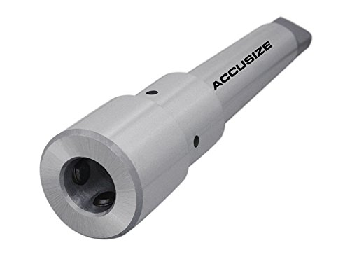 Accusize Industrial Tools Magnetic Drill Annular Cutter Arbor Mt4 to 3/4'' Weldon Shank, Mc00-0004