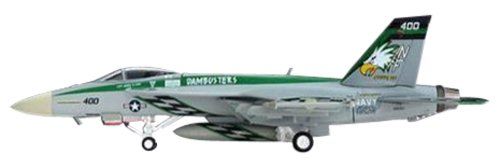 HG7907 Hogan Usn F:A-18e 1:200 Super Hornet VFA-195 NF400 Model Airplane