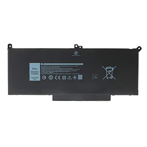 Nueva batería para computadora portátil F3YGT para DELL Latitude 12 7000 7280 7290 13 7380 7390 P29S002 14 7480 7490 P73G002 E7480 E7280 E7290 Business Notebook DM3WC DM6WC 2X39G KG7VF V4940 451-BBYE