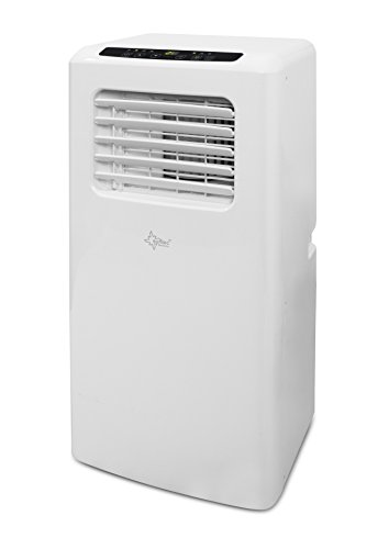 Suntec Wellness 14277 SUNTEC mobiles lokales Klimagerät Impuls 2.6 Eco [Räume bis 80 m³ (~34 m²), Kühlen + Entfeuchten mit ökologischem Kühlmittel R290, 9.000 BTU/h, Energieeffizienzklasse A], 240 V